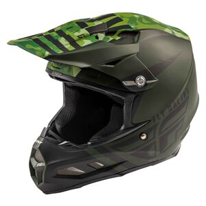 Fly Racing Dirt F2 Carbon Granite MIPS Helmet