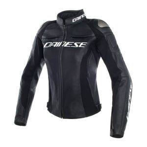 Dainese Racing 3 Women's Jacket Black/Black/Black / 38 [Blemished - Very Good]