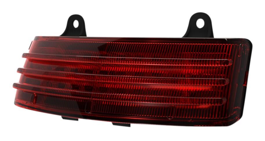 Custom Dynamics Smoked Rear LED Marker Turn Signal Brake Lights Harley Touring