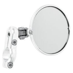 CRG Hindsight Lanesplitter Bar End Mirror Silver / Right Side [Previously Installed]