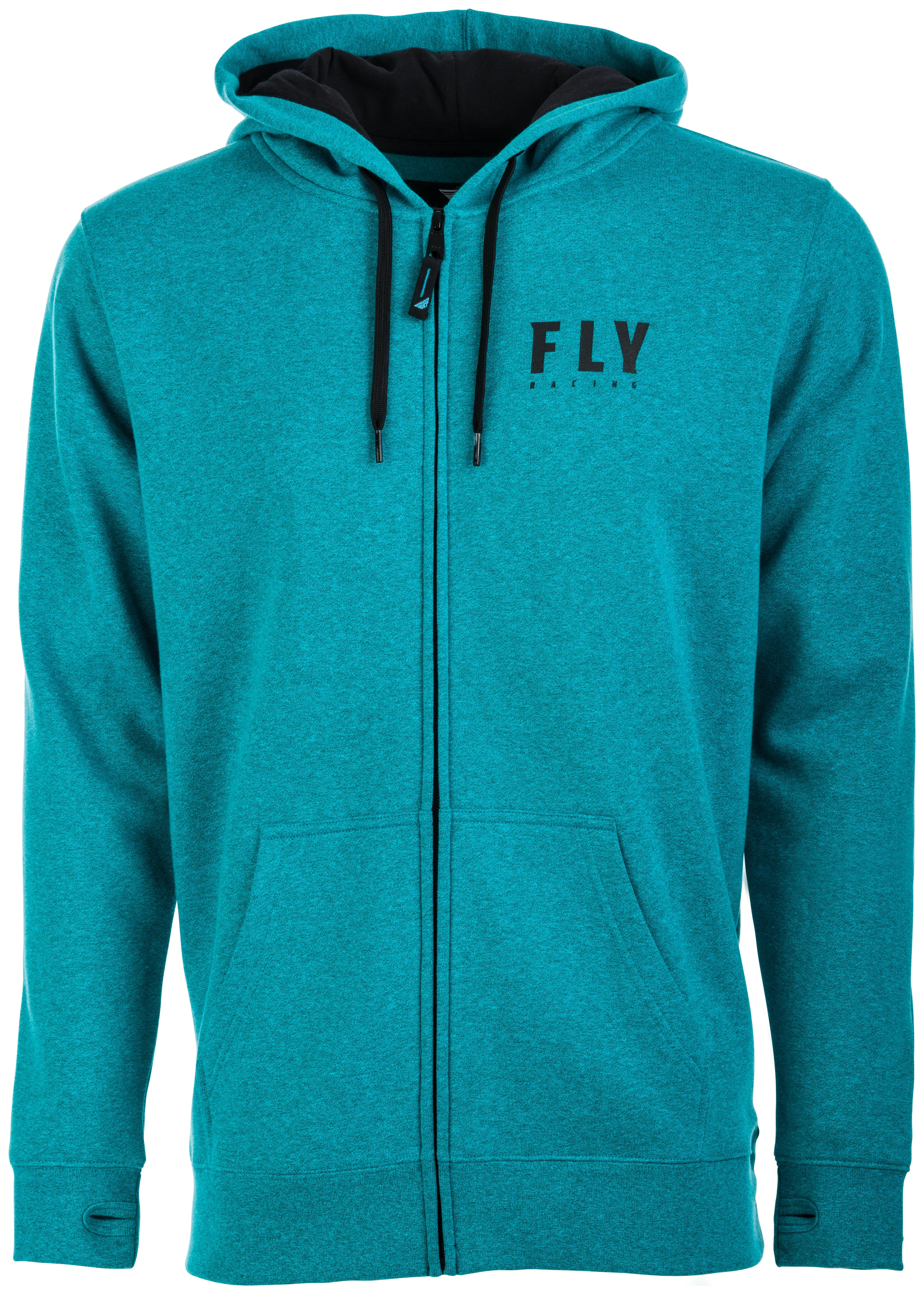 NEW FLY RACING CORP ZIP-UP HOODY DIRT BIKE OFF ROAD ALL SIZES