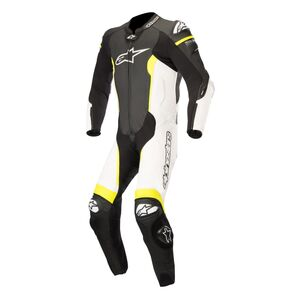 Alpinestars Missile Race Suit For Tech Air Race Black/White/Fluo Yellow / 58 [Blemished - Very Good]