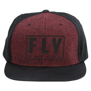 Fly Racing Evo Hat Black//White