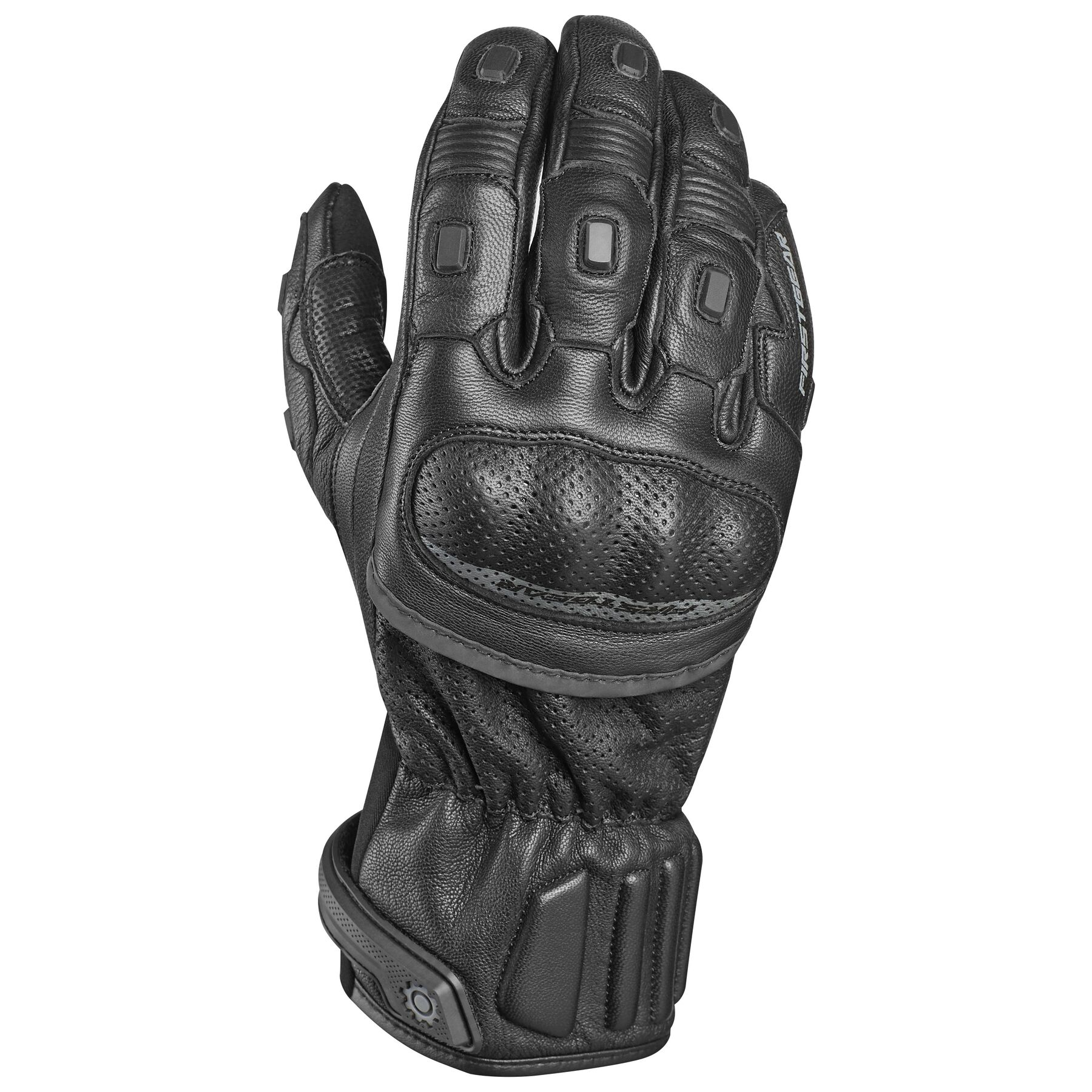 Short Firstgear Kinetic Gloves Black XX-Large