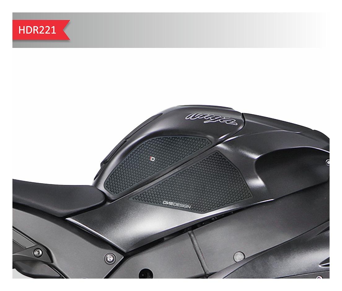 STOMP GRIP Traction Pad Tank Kit KAWASAKI ZX1000 Ninja ZX-10R 2011-2014 Black