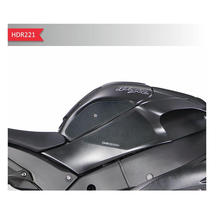 Traction Tank Pad Gripper Stomp Grips Kawasaki ZX10R ZX10-R 2011-2015 2012 2013