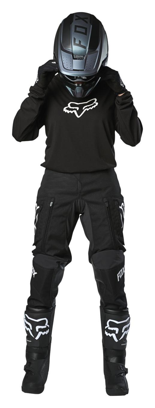 Fox Racing 2020 Womens Legion LT Pants Black//White 10