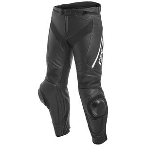Dainese Delta 3 Perforated Leather Pants Black/Black/White / 50 [Blemished - Very Good]