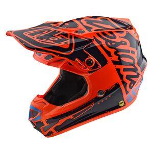 Troy Lee Youth SE4 Factory Polyacrylite Helmet
