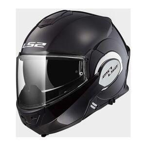 LS2 Valiant Helmet Black / XL [Open Box]