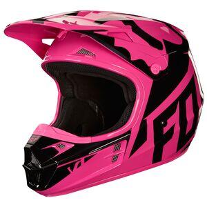 Fox Racing Youth V1 Race Helmet Pink / MD [Open Box]
