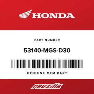 Honda 53140-Mgs-D30 Grip, Throttle