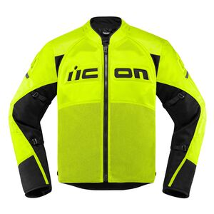 Icon Contra 2 Jacket Hi-Viz Yellow / 3XL [Demo - Good]