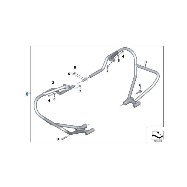 BMW Engine Protection Bars R NineT