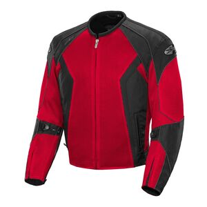 Joe Rocket Mens Phoenix Ion Summit Mesh Motorcycle Jacket Black//Black, Small