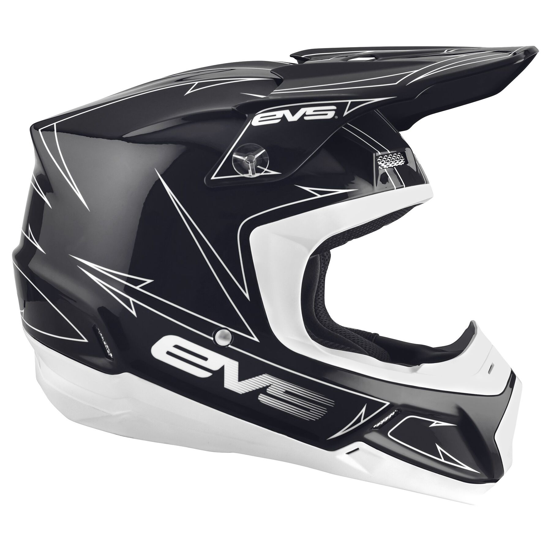 EVS Sports HT5V-LNBKYR-XS T5 Vapor Helmet Liner