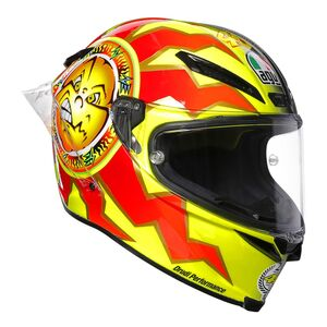 AGV Pista GP R Carbon Rossi 20 Years Helmet Yellow/Black / LG [Demo - Good]