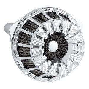 Arlen Ness Inverted Series Deep Cut Black Air Cleaner Kit 18-917