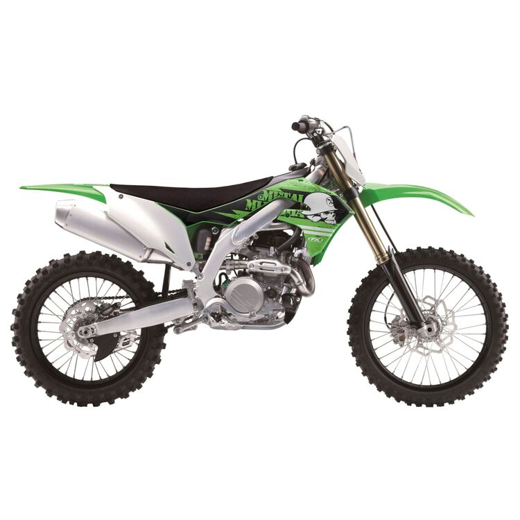 Factory Effex Metal Mulisha Shroud / Airbox Graphics Kit Kawasaki KX450F 2019-2020