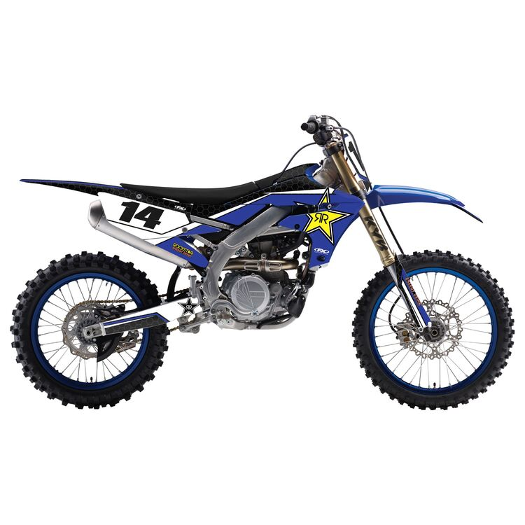 Factory Effex Complete Rockstar Graphics Kit Yamaha YZ125 / YZ250 2008-2014
