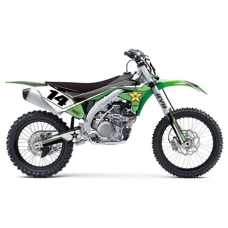 Factory Effex Rockstar Shroud / Airbox Graphics Kit Kawasaki KX250F 2020