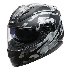 Sedici Strada Camo Helmet Black/Grey / XS [Blemished - Very Good]