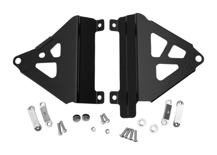 Works Connection radiator braces for 2019 Honda CRF450L /& CRF450X /_18-719