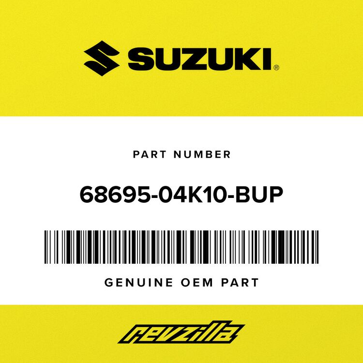 Suzuki .EMBLEM, SIDE COWLING 68695-04K10-BUP