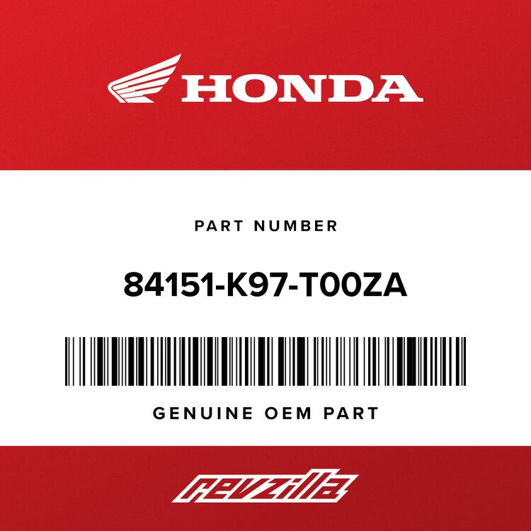 Honda COVER, GRAB RAIL *YR320M* (BRIGHT BRONZE METALLIC) 84151-K97-T00ZA