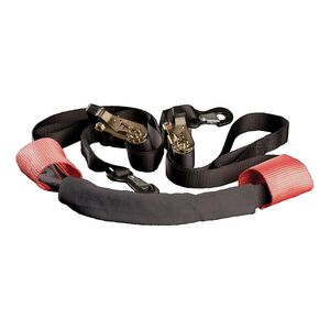 Trackside Extreme Duty Bar Harness Ratchet Tie-Down Black [Previously Installed]