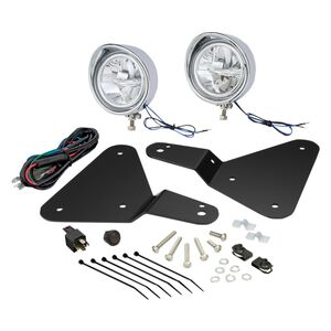 Show Chrome LED Driving Lights Can-Am Spyder F3 2015-2019