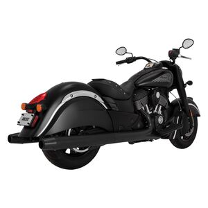 Vance & Hines Classic Slip-On Mufflers For Indian Chief 2014-2019 Black [Demo - Acceptable]