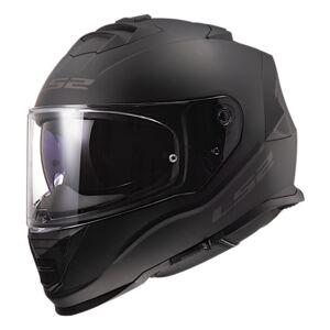 LS2 FF327 Challenger Solid Helm Schwarz Matt XXS