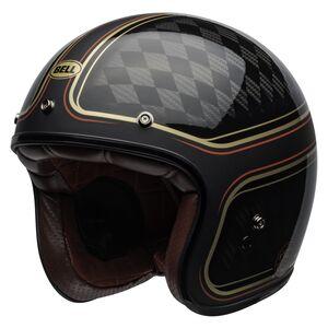 Bell Custom 500 Carbon RSD Checkmate Helmet