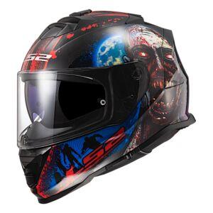 LS2 Assault I Heart Brains Glow In The Dark Helmet