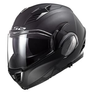 LS2 Valiant II Blackout Helmet