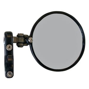 CRG Hindsight Lanesplitter Bar End Mirror Black / Left Side [Previously Installed]