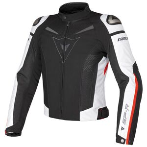 Dainese Super Speed Textile Jacket Black/White/Red / 56 [Blemished - Very Good]
