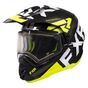 FXR Torque X Evo Snow Helmet - Electric Shield