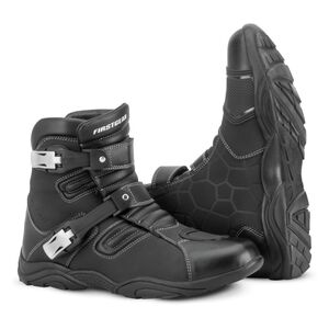 Firstgear Kathmandu Lo WP Boots Black / 12 [Demo - Good]