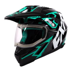 FXR Octane X Deviant Snow Helmet - Electric Shield