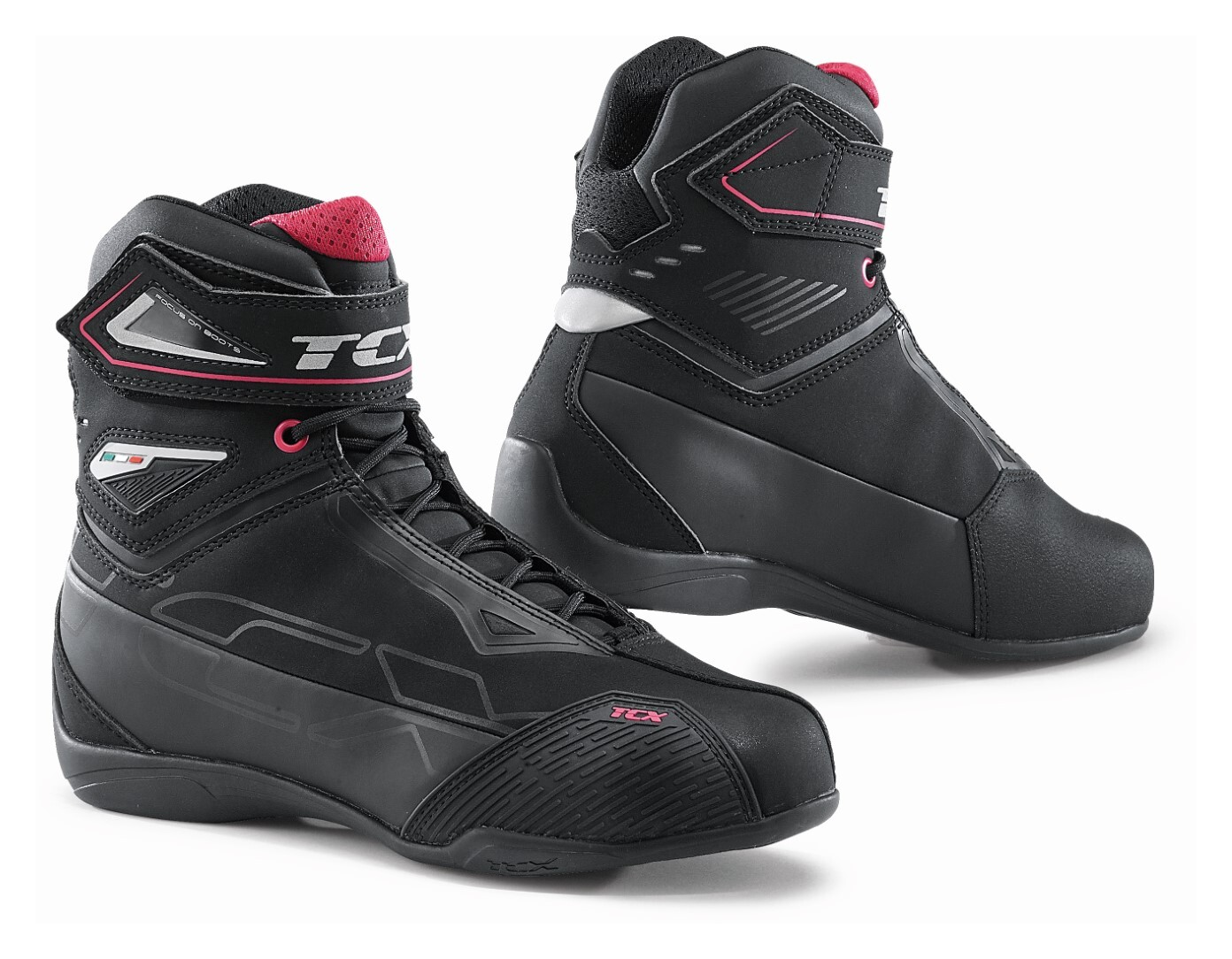 TCX Rush 2 Waterproof Urban Motorcycle Boots Black 43