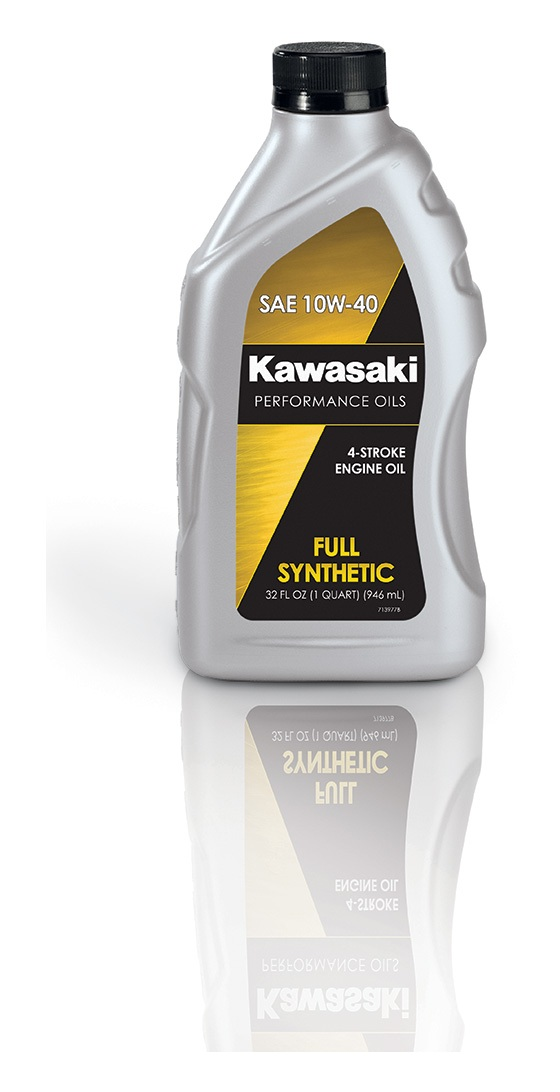 Full Synthetic Oil >> Kawasaki Performance 4 Stroke Full Synthetic Engine Oil Revzilla
