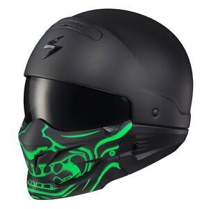 Scorpion EXO Covert Samurai Glow-In-The-Dark Face Mask