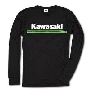 Kawasaki Three Green Lines Long Sleeve T-Shirt