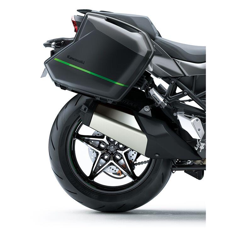 Kawasaki KQR 28 Liter Hard Saddlebag Color Panel Set Ninja H2 SX SE+ 2020