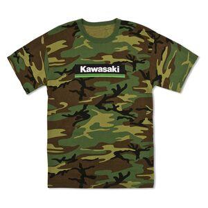 Kawasaki Three Green Lines T-Shirt