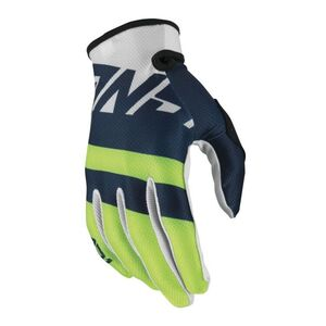 Answer Youth AR1 Voyd Gloves Blue/Hi-Viz Green/White / XL [Demo - Good]