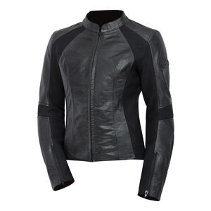 XL White//Black BILT Womens Techno Mesh Motorcycle Jacket