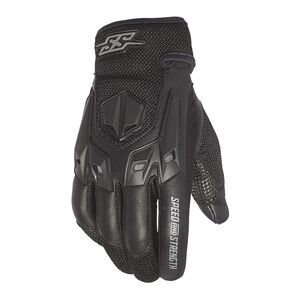 Speed and Strength Insurgent Gloves Black / MD [Demo - Good]